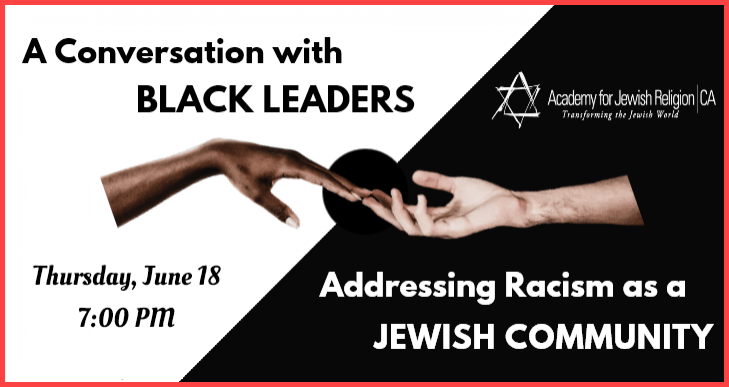 A Conversation with Black Leaders: Addressing Racism as a Jewish Community