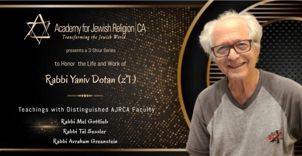 Yaniv Dotan Memorial Lecture Series